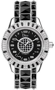 cd115511m001 christian dior christal black diamond dial mens watch christian dior christal cd115511m001 image 0