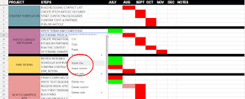Task Management Spreadsheet Template How To Use Excel And Google Sheets To Organize Your Marketing Efforts