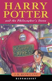 harry potter and the philosopher s stone original book cover