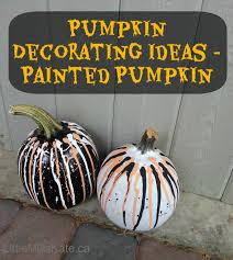 Small Pumpkin Painting Pumpkin Decorating Ideas Painted Pumpkins Little Miss Kate
