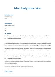 Sample Of Letter Of Resignation Extraordinary Resignation Letter Samples Template Top Form Templates Free