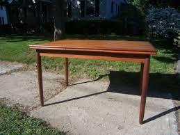 vintage teak furniture. Vintage Danish Modern Teak Dining Table With End Extensions Furniture