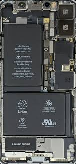 apple iphone x teardown and x ray wallpapers by ifixit