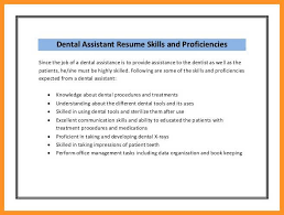 3 4 Dental Assistant Duties For Resume Texasfreethought Com