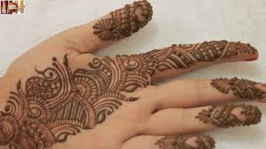 Easy Simple Beautiful Indo Arabic Mehndi Design For Palm Learn Arabic Henna Designs For Palm