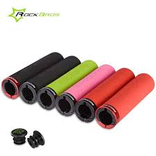 Rockbros Sponge <b>Silicone Bicycle</b> Grips Comfortable <b>Mountain Bike</b> ...