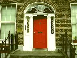 red front door on brick house. Entryway Front Doors Red Door On Brick House Color L