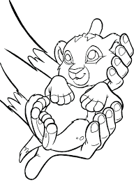 baby simba coloring pages page lion king cute the baby simba coloring pages