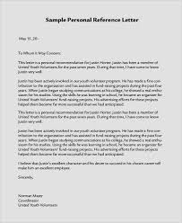 Personal Character Letter Samples Free 24 Sample Personal Letters Of Recommendation In Pdf