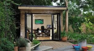 office in the garden. Harrison James, Designer Of Premium Bespoke Garden Rooms, Has Seen An Increase In Demand For Office And Study Space. This Also Correlates With The Rising