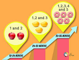 Toddler Milestones By Month Chart Counting Numbers Milestones Between 18 36 Months Ira