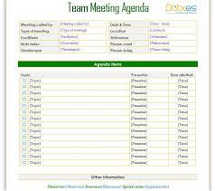 Informal Team Meeting Agenda To Improve Your Team Meeting Agenda