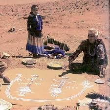 navajo sand painting ritual