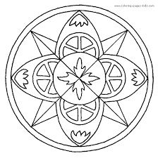 Small Picture Fresh Mandala Coloring Pages For Kids 20 On Coloring Pages for