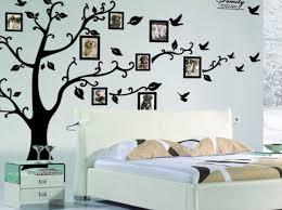 bedroom wall art stickers uk room