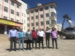 İl Milli Eğitim Müdürümüz Mehmet Emin Korkmaz Bitlis Merkez Şehit Tahsin  Barutçu Anadolu Lisesi Bakım ve Onarım Çalışmalarını Denetledi
