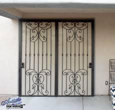 metal security screen door. Wrought Iron Security Screen Door For Patio Doors Metal