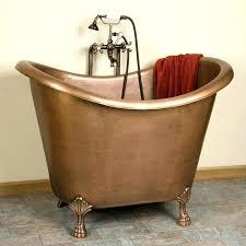 copper bathtub for bathtubs abbey copper double slipper soaking tub vintage copper bathtub for copper bathtub
