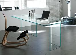 unique office desk. Unique Office Desk Amazing Rectangular Pure Glass With Chair Design For Your .