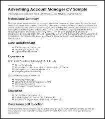 resume for account manager accounting manager resume sample objective for resume good example