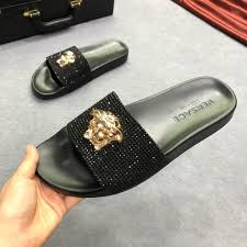 Replica Designer Slippers High Quality Replica Versace Slippers For Men Knock Off