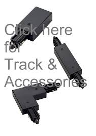track lighting solutions. SLV A-Track-Parts-Black A - Surface Mount Track Parts Lighting Solutions