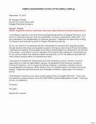 Electrical Engineering Cover Letter Inspirational Sample Resume For