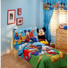 disney mickey mouse playground pals 4pc toddler bedding set com