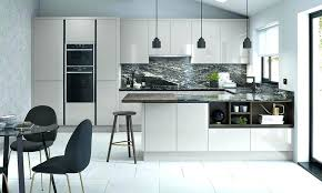 modern grey kitchen floor tiles modern grey kitchen porter silver gloss cabinets home interior design pictures kerala