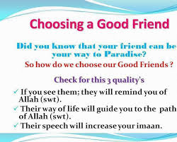 Freindship In Islam Fatimah Publications Custom Islamic Quotes For Friendship