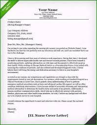Nursing Resume Cover Letter Incomparable Nursing Cover