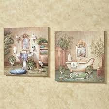 bath wall art blissful bath wall plaque set multi pastel set of two vintage bathtub wall bath wall art  on vintage bath wall art with bath wall art three pieces framed bathroom wall art above