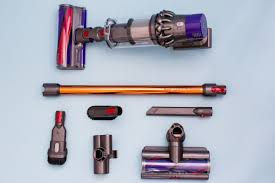 from the top the dyson cyclone v10 with hard floor motorhead extension stick