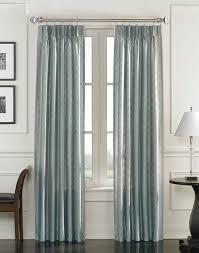 Living Room Curtain Panels Lyon Faux Silk Pinch Pleat Drapery Panel Curtainworkscom