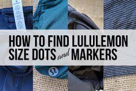 Lululemon Bathing Suit Size Chart How To Find Lululemon Size Dots And Markers Schimiggy Reviews