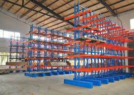 Powder Coating Racks Suppliers Heavy Duty Cantilever Storage Racks Systems Muti Layers Powder Coated 91
