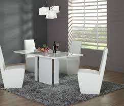 cute dining room tables cute dining room tables stylish dining table edgy white chairs