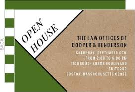 Open House Business Invitations Business Open House Invitations Business Open House Announcements