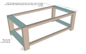 diy coffee table plans ideas with regard to building designs