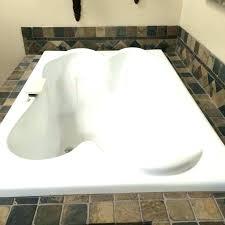 2 person soaking tub freestanding bathtub two bathtubs for a romantic couple