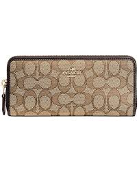 COACH. Slim Accordion Zip Wallet in Signature Jacquard. 26 reviews.   125.00. Bonus value  200 Details Details. main image