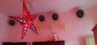 Balloon Decoration For Birthday Girl At Home  Image Inspiration Simple Balloon Decoration Ideas At Home