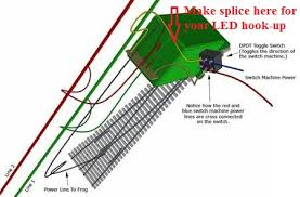 railroad line forums peco turnout failed tortoise to frog? kato n scale wiring at Dpdt Switch Wiring Diagram For Kato