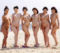 Oriental girls nude groups