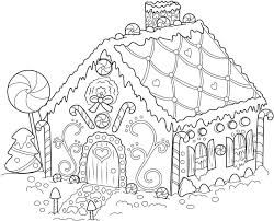 Gingerbread House Coloring Book Gingerbread House Coloring Book