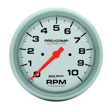 amazon com auto meter 4498 ultra lite in dash electric tachometer Auto Meter Gauge Wiring Diagram Voltage amazon com auto meter 4498 ultra lite in dash electric tachometer automotive Auto Meter Volt Gauge Wiring