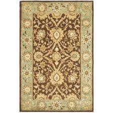 chocolate blue area rugs