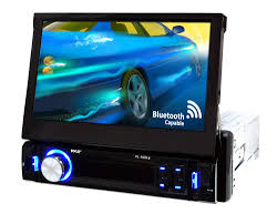 pyle pl78dlb on the road headunits stereo receivers pl78dlb 7 touch screen lcd am fm stereo view larger