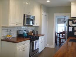 behr ocean pearl great paint color.... Love the counters and backsplash too