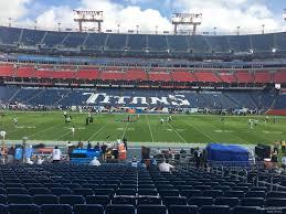 Nissan Stadium Section 135 Tennessee Titans